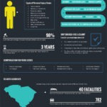 Injury Statistics in South Carolina (S.C.) Infographic